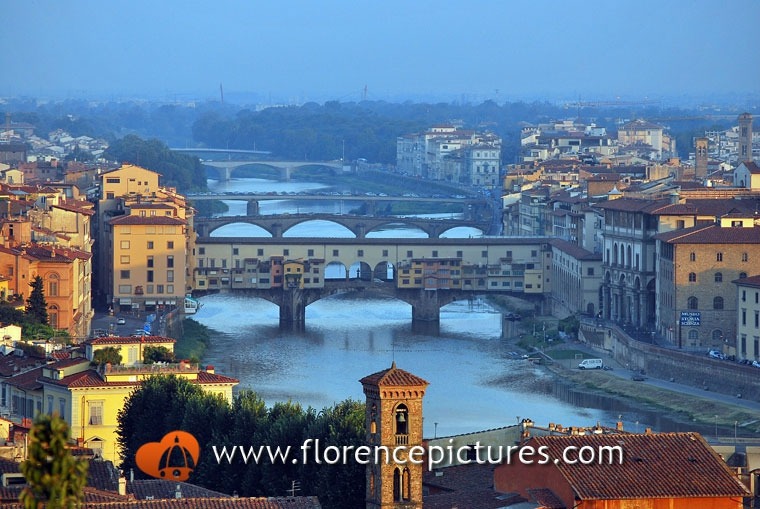 Bridges over Arno river