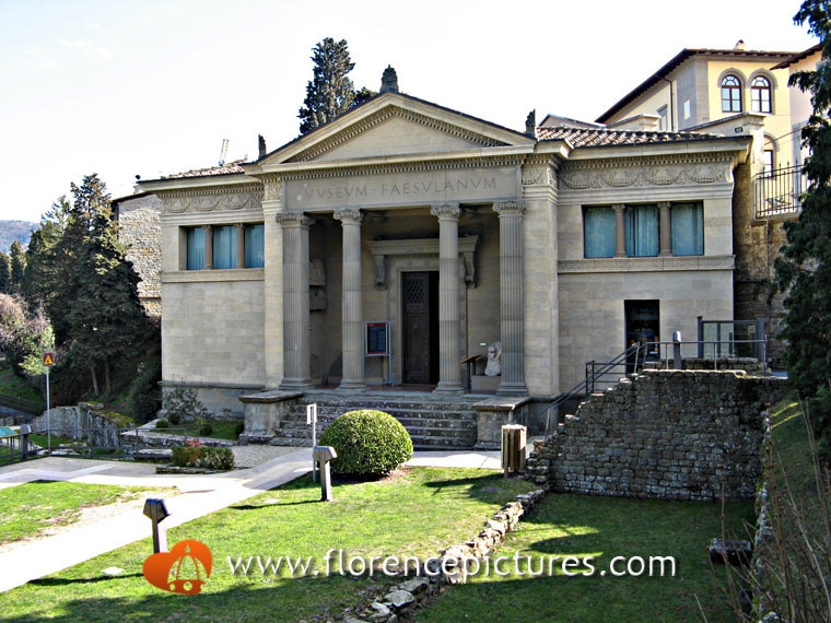 Fiesole, the Achaeological Museum