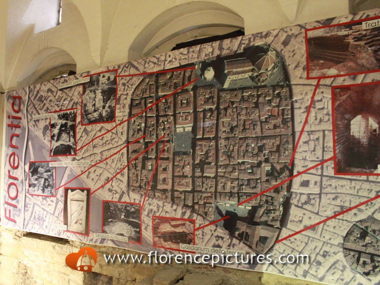 Map of Roman Florence