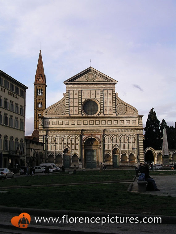 Santa Maria Novella at Sunset